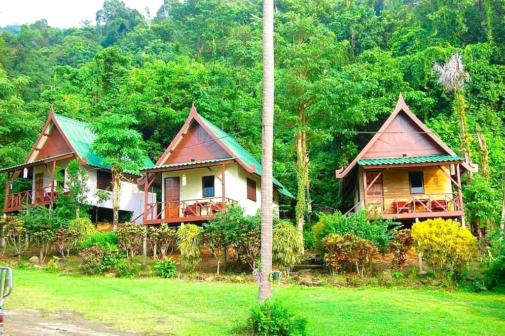Hillside bungalows with seaview - Koh Chang