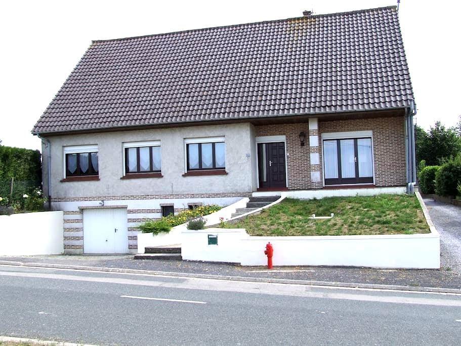 Belle maison à la campagne - Villers-Châtel - Hus