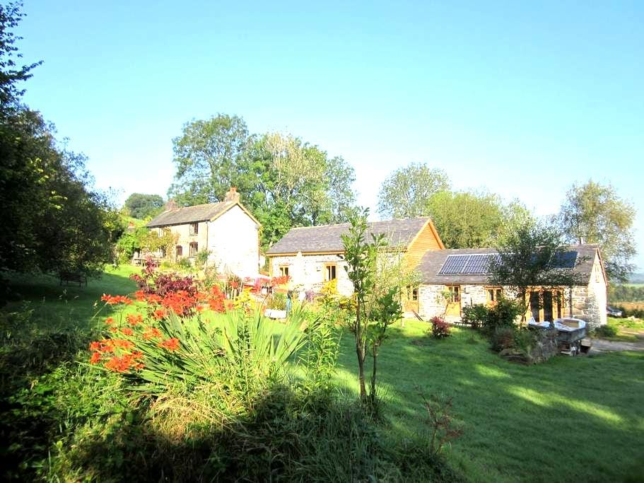 Stylish, secluded, 5*, eco, pet-friendly Cottage - Carno - Casa