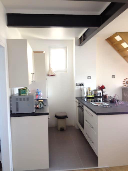 Chartres chambre privée - Chartres - Apartament