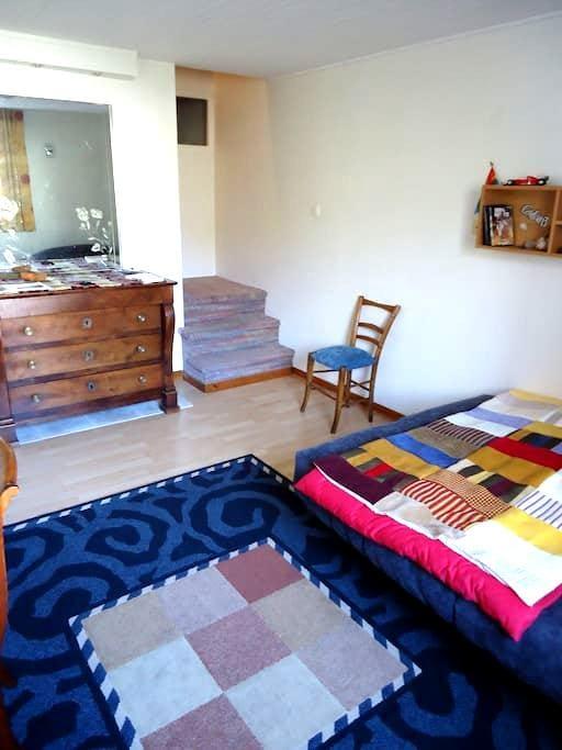 Chambre dans maison très proche lac - Lugrin - Huis