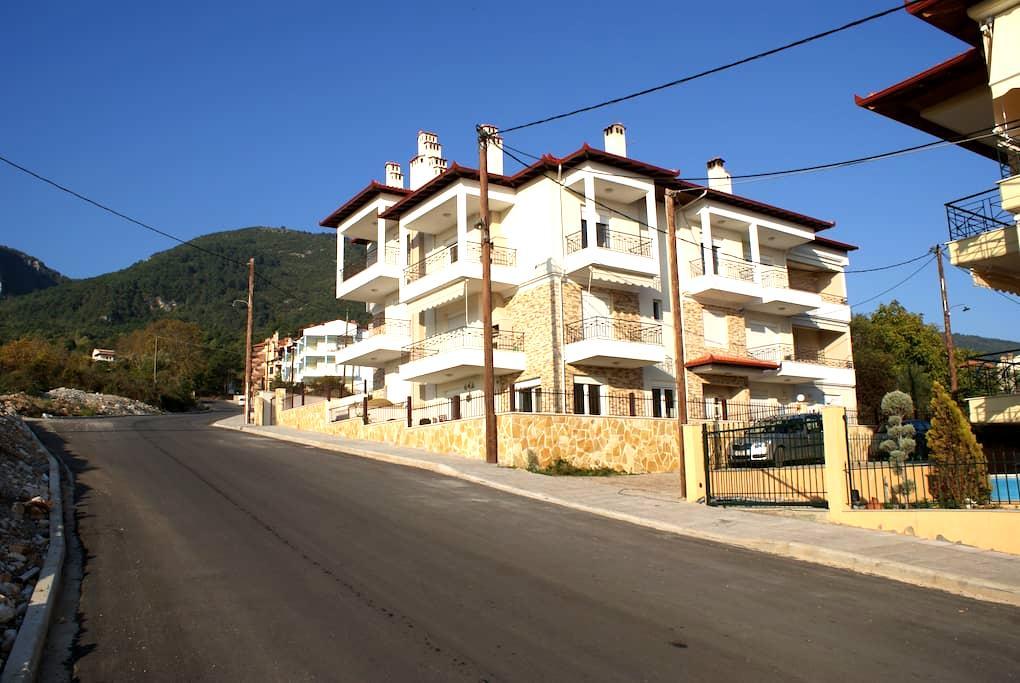 Skøn græskferielejlighed m/6 senge - Litochoro - Apartamento