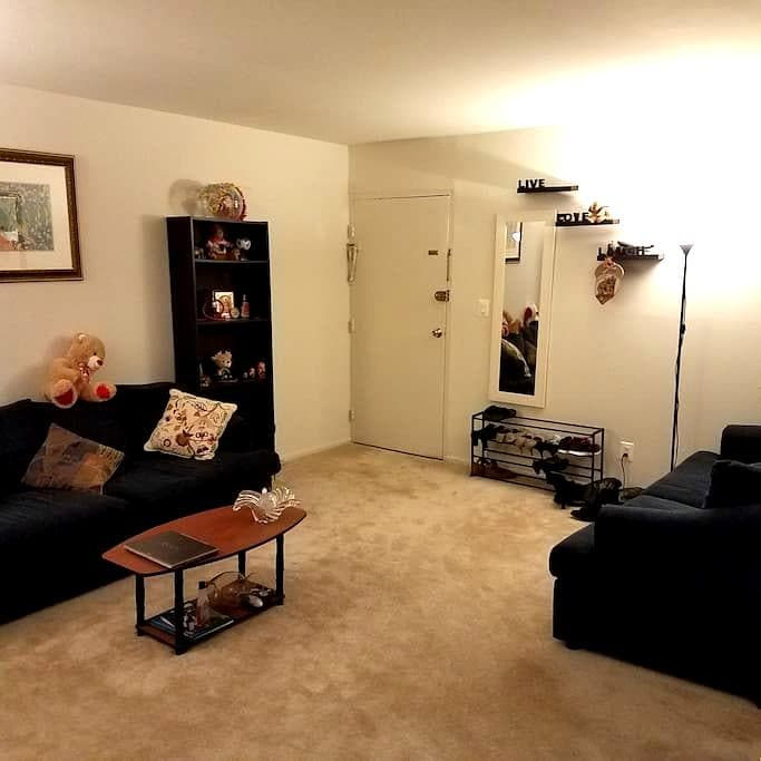 2BR for Inauguration Weekend/women's march - Rockville - Lägenhet