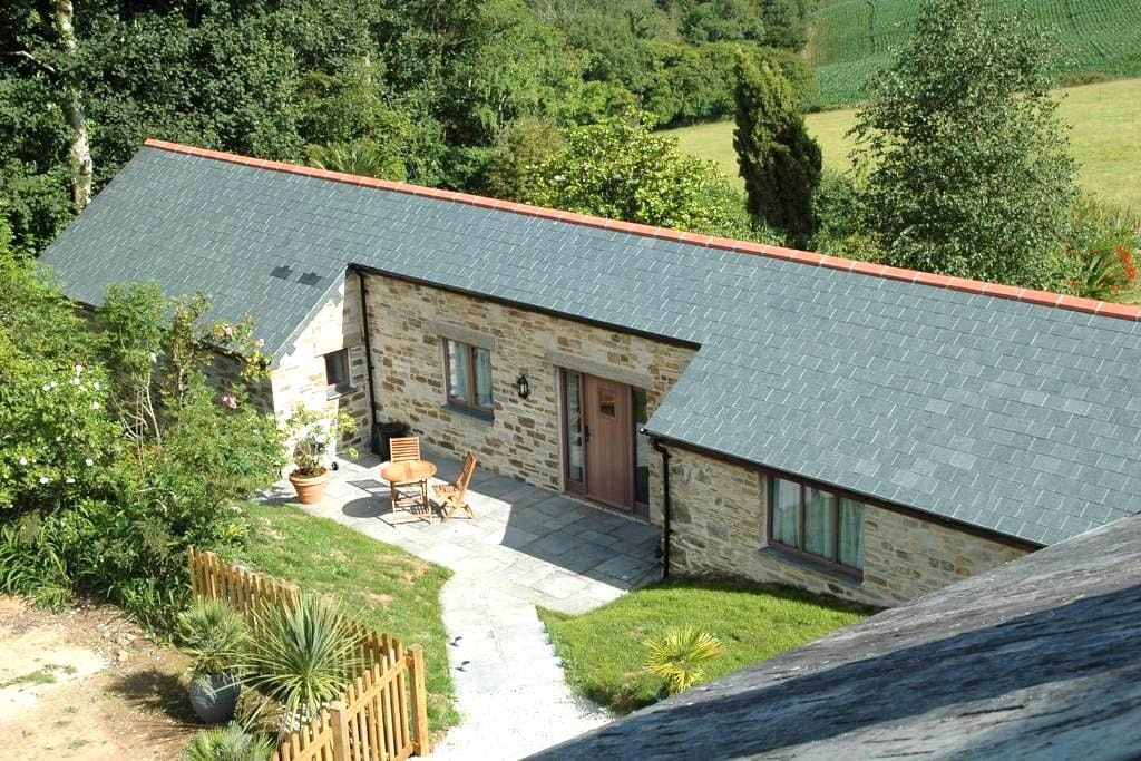 The Linhay at East Trenean Farm, Looe, Cornwall - Widegates - House