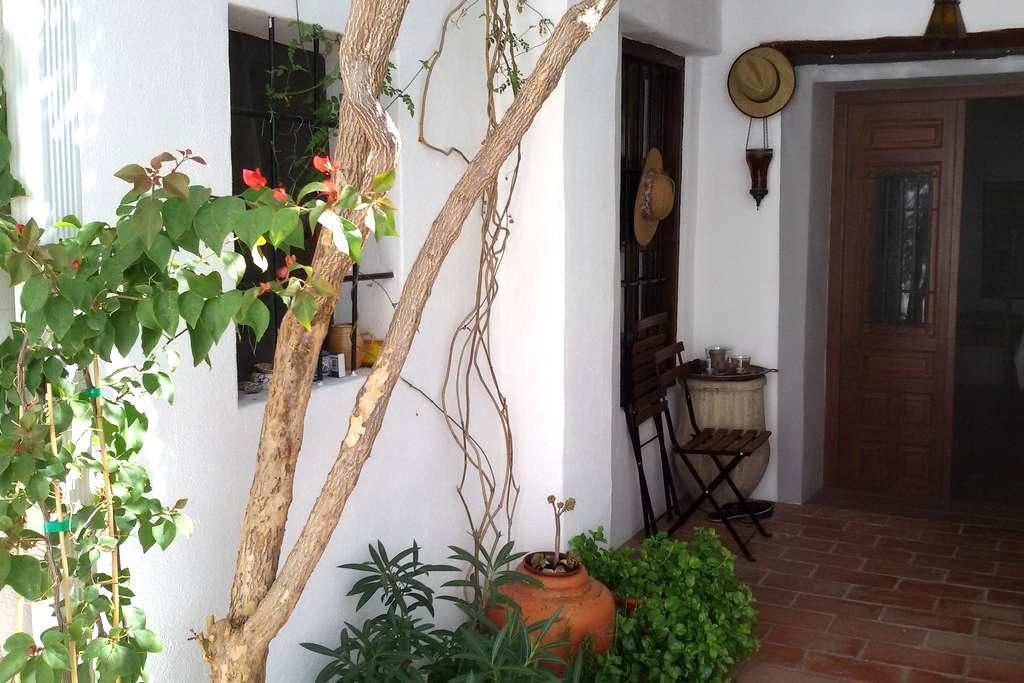 laZarzamora....casita acogedora con encanto - Huétor Vega - Huis