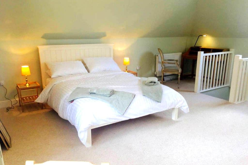 Peaceful self-contained flat in private road - Great Shelford - Apartment