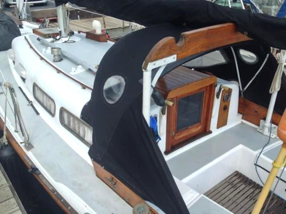 Classic Sailboat in Private Marina right in town! - Bayfield