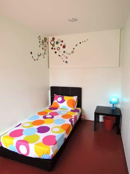 Single Bedroom @ The P!LLOHOUzzze - Melaka - House