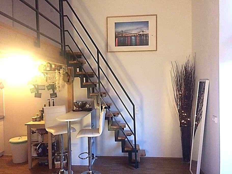 Modernes Studio City und Weser nah mit gr. Balkon - Bremen - Leilighet