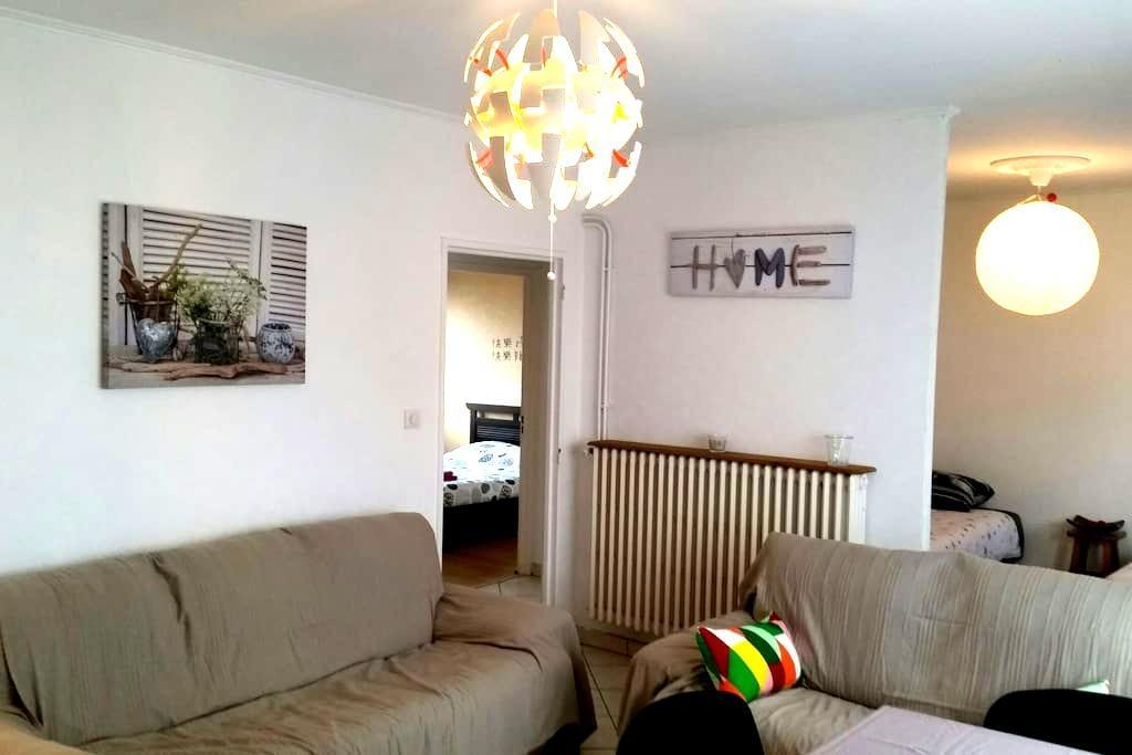 Bel appartement idéal 4 personnes - Mondelange - Lakás
