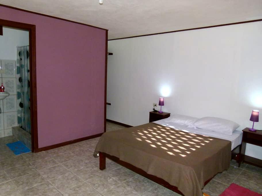 Double Room Aracari Garden Hostel - Tortuguero