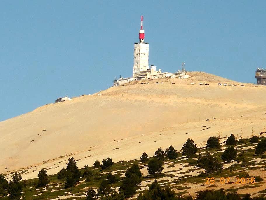 Villa pour retraités aux pieds du Mt Ventoux - Le Barroux