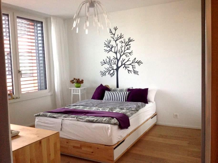 Bergblick und Golfplatz - Risch - Apartment