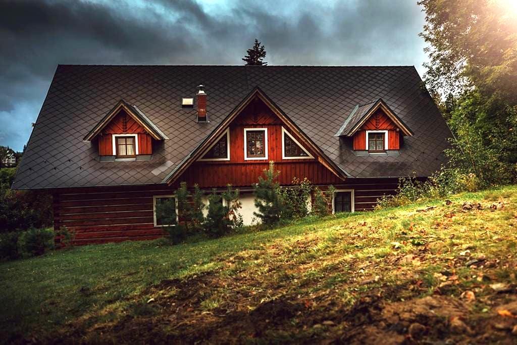 Cosy Log House Apartment - Benecko