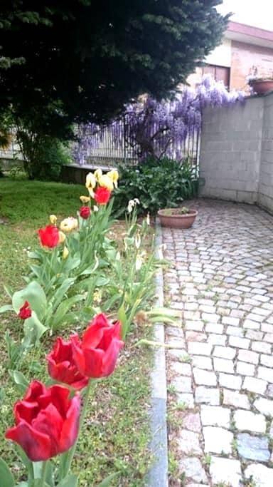 Camera in villetta con giardino - San Maurizio Canavese - Hus
