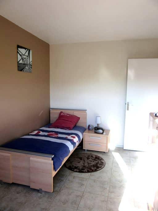 Chambre dans appartement en duplex - Joué-lès-Tours - Apartment