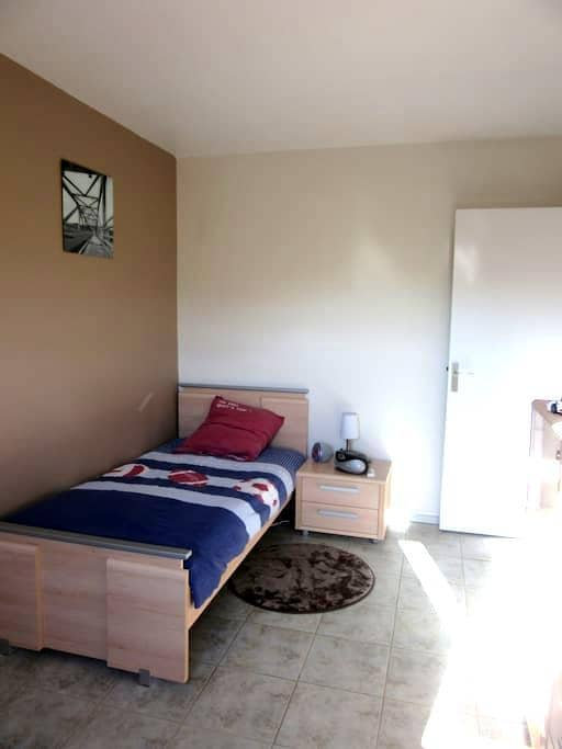 Chambre dans appartement en duplex - Joué-lès-Tours - Lägenhet