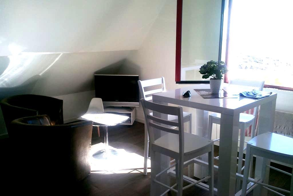 coquet studio vue mer accès direct plage - Batz-sur-Mer - Apartment