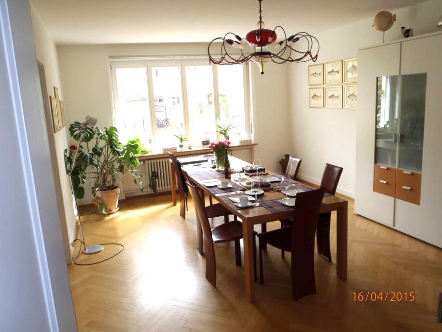 Spacious house near park area, ArtBasel & Messe - Riehen
