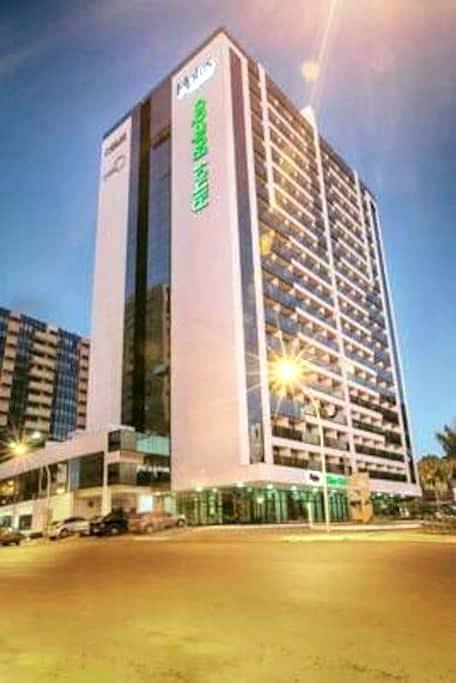 Flat completo no centro, andar alto - Brasília  - Apartment