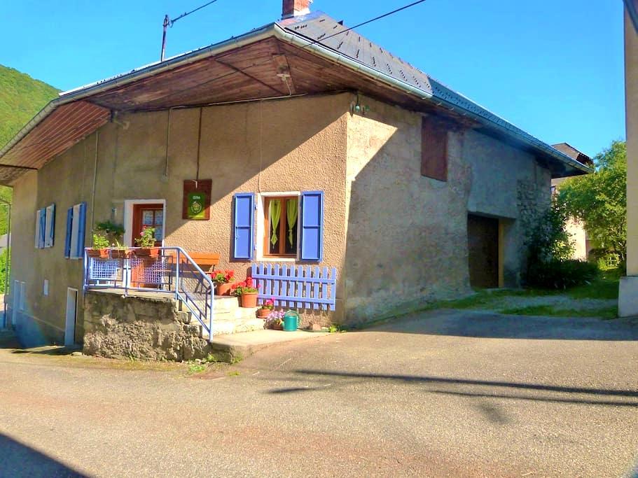 Maison de village Parc naturel régional des Bauges - Sainte-Reine - House