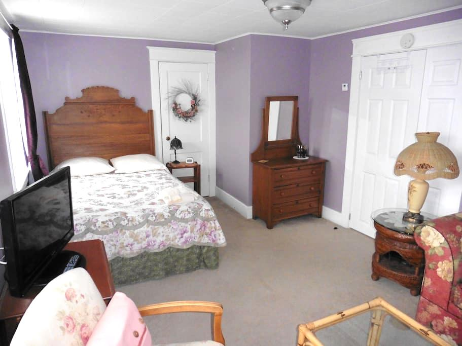 Large Private Room in Belleville (Purple Room) - Belleville - House