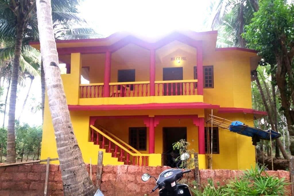 MA CA PAL Guest House (Goa) - Velsao - Ház