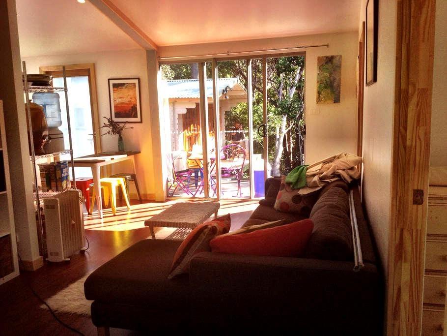 Peaceful Mullum Forest Retreat - Cabin & Apartment - Wilsons Creek