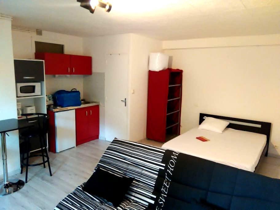 Studio calme et récent plein pied - Rignac - Apartment