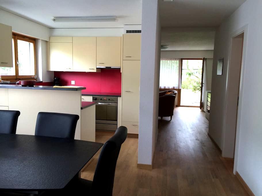 Moderne 3,5 Zimmerwohnung - Lenk im Simmental