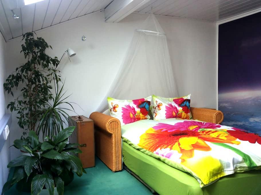 Lauschiges Zimmer am Dachboden - Schwoich - 公寓