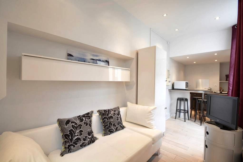Studio Nancy center with WIFI and french TV - Nancy - Apartamento