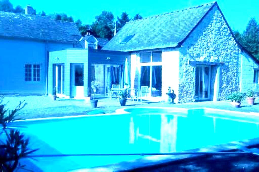 maison atypique à la campagne - Bauné