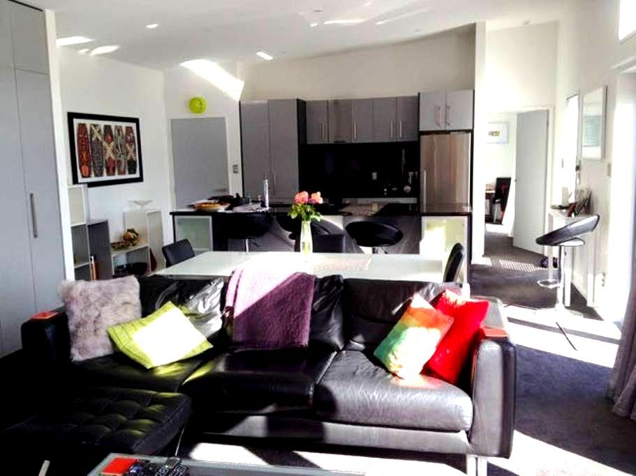 Lovely, clean, modern, sunny home. - Christchurch - House