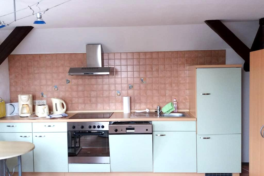 Dachgeschosswohnung zwischen Radebeul und Dresden - Moritzburg