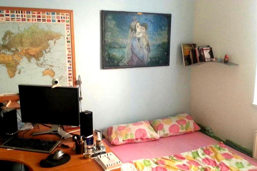 Sleeping and working room - ปราก