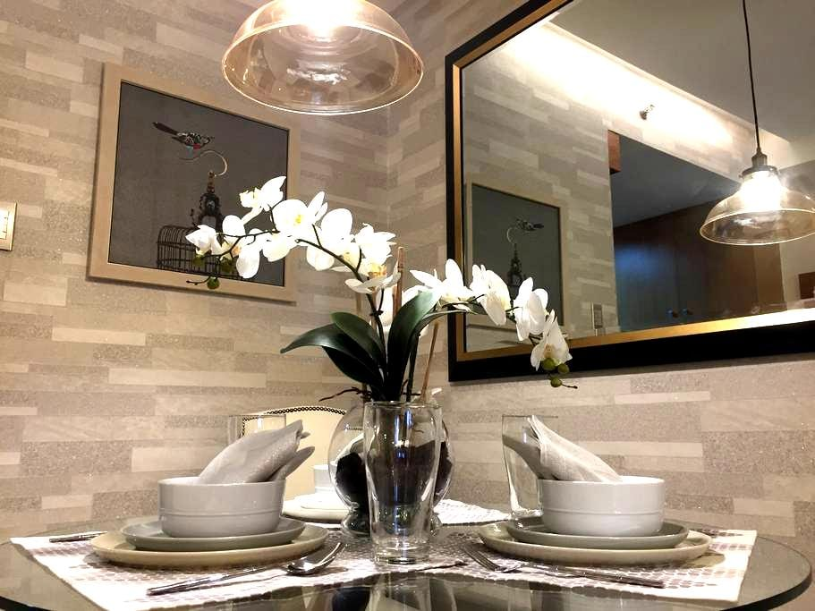 NEW!Beautiful 1BR Luxury Condo at Shell Residences - Pasay - Kondominium