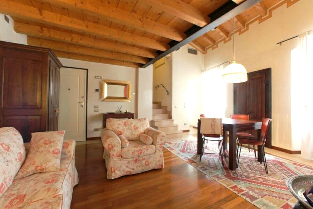lovely open space in old town - Peschiera del Garda - Apartemen