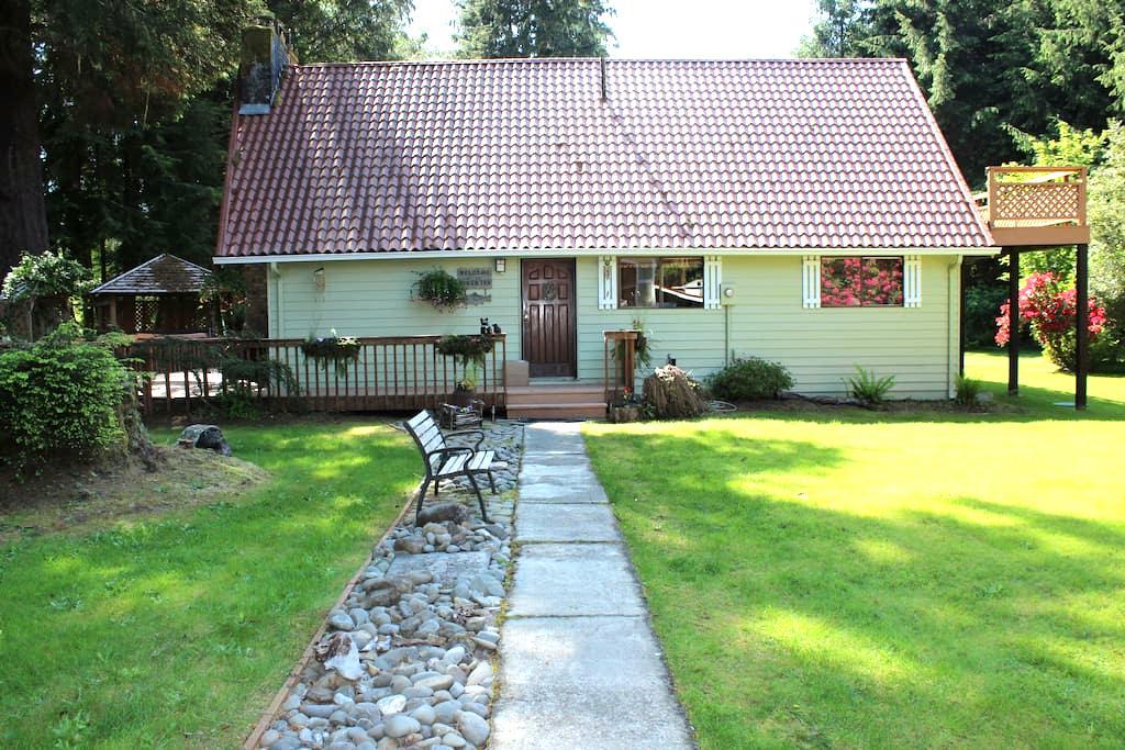 Bogachiel River Home Sleeps up to 9 - Forks - Haus
