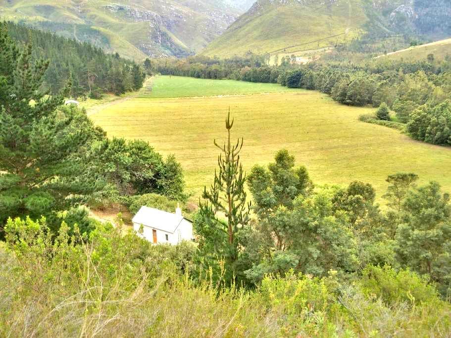 Jansehuis mountain valley cottage - Swellendam - Cabaña