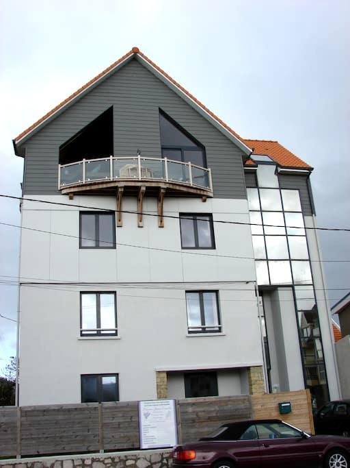 Maison lumineuse vue mer prox plage - Wimereux - Casa