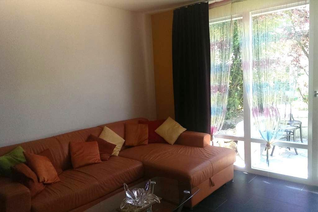 2-Zimmer Wohnung mit Terrasse - Niederscherli - Lejlighed