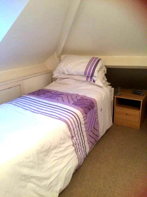 Single loft room - Ratby - Rumah