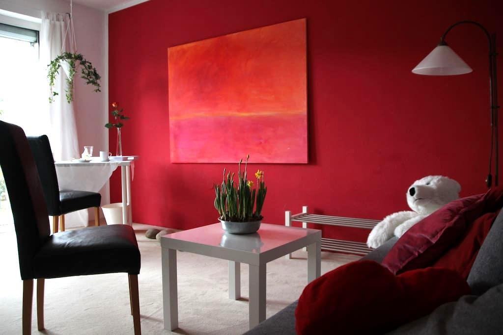 wunderschönes Zimmer mit Balkon - Würzburg - Таунхаус