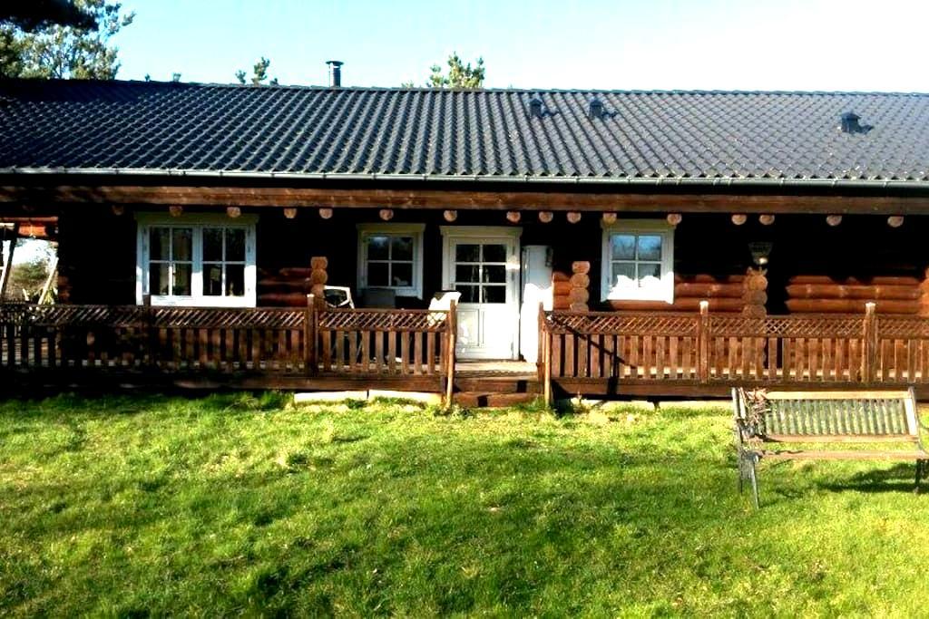 Vesterø, Læsø - Bjælkehus/loghouse - Læsø - Cabin