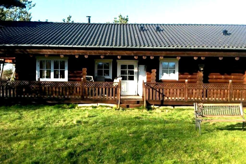 Vesterø, Læsø - Bjælkehus/loghouse - Læsø - Cabana