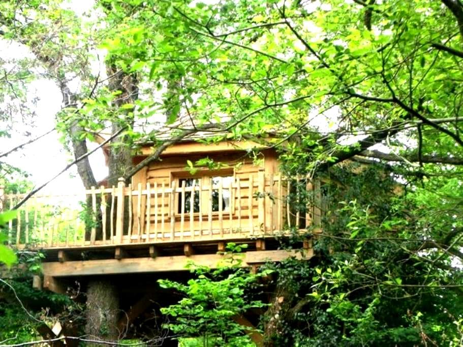 le top 20 des cabanes dans les arbres louer nantes airbnb cabane dans les arbres nantes. Black Bedroom Furniture Sets. Home Design Ideas