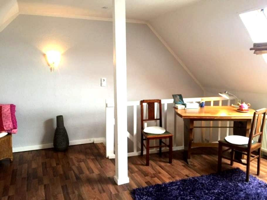 A sense of well-being near castle and trade fair - Saarbrücken - Apartamento