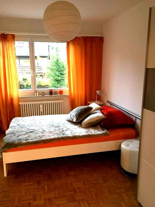 Casa IMPROVISA  urban quiet funky safe environment - Reinach - Bed & Breakfast