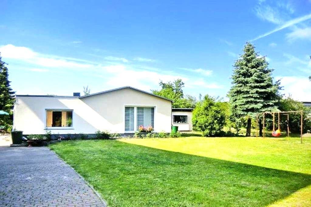 Ferienhaus mit Garten Strand 2 km - Greifswald - House